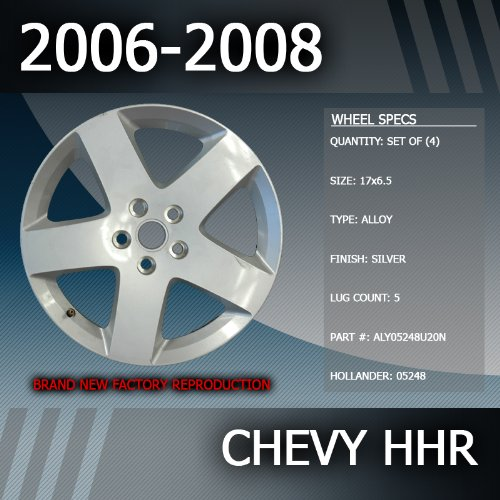 2006 2008 Chevy HHR OEM Factory 17 Replacement Wheels Set