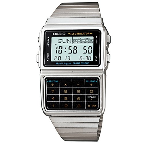 Casio DBC-611-1D Databank based on an 80s classic that was once state of the art. The watch you always wanted, but couldn't afford!
