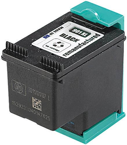 recycled / rebuilt by iColor Recycled Cartridge für HP (ersetzt CC654AE No.901XL), black HC