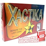 Xactika Card Game with Free Deck of Cards
