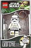 LEGO® Starwars Stormtrooper Keyring Led Key Light Torch