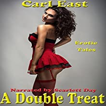 A Double Treat (       UNABRIDGED) by Carl East Narrated by Scarlett Day