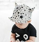 LOTUS LIFE 帽子 キッズ キャップ 男の子 女の子 兼用 51~52cm サイズ調整 可能 Davil's Ear Cap (白) ランキングお取り寄せ
