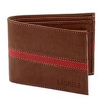 Laurels Men's Wallet Brown-String-CP02