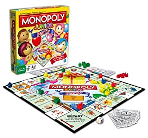 Hasbro - 368871010 - Jeu de Société - Monopoly Junior Party
