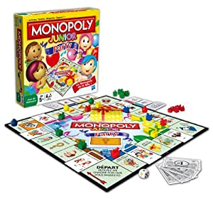 Hasbro - 368871010 - Jeu de Société - Monopoly Junior Party