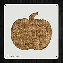 Halloween Pumpkin Style 1973  DIY Plastic Stencil Acrylic Mylar Reusable
