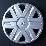 Set of 4 new wheel trims for Renault Megane 1 / Laguna 1 / Clio 1 / Clio 2 / Twingo 1 / Scenic 1 / Espace 2 / Espace 3 / Kangoo 1 with original rims in 15 inches