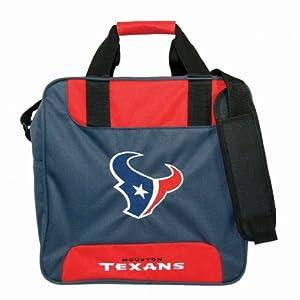 NFL Single Bowling Bag- Houston Texans by KR Strikeforce Bowling Bags