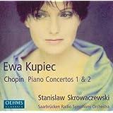 ショパン:ピアノ協奏曲第1番, 第2番(クピーク/ザールブリュッケン放送響/スクロヴァチェフスキ)