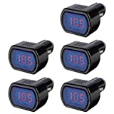 TOOGOO(R) LCD Cigarette Lighter Voltage Digital Panel Meter Volt Voltmeter Monitor for Auto Car Truck