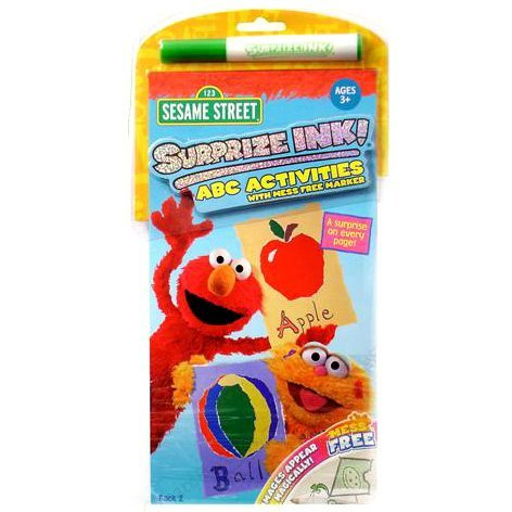 Sesame Street Surprize Ink ABC Activities with Mess Free Marker - 1