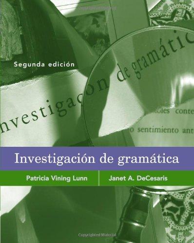 Investigacion de gramática