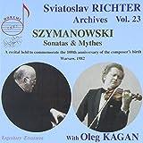 Szymanowski: Sviatoslav Richte