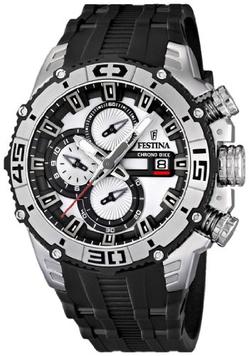 NEW Festina Chronograph Bike TOUR DE FRANCE 2012 Men's Watch F16600/1