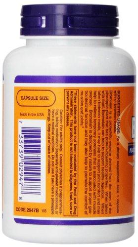 美容/抗癌/助消化,NOW Foods 菠萝蛋白酶 120粒图片