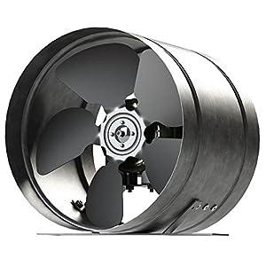 Inline Duct Fan 315mm Zinc Plated Metal Arw Ducting