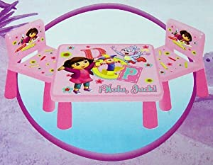 Dora The Explorer Funtime Table And Chairs Set by Kids Only, Inc.