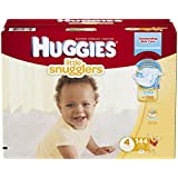 Huggies Little Snugglers Diapers, Size 4, 144 Count (Packaging May Vary)