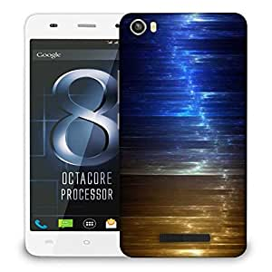 Snoogg Colorful Crystals Design Designer Protective Phone Back Case Cover For LAVA IRIS X8