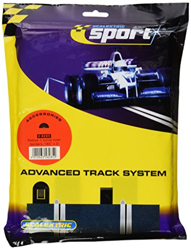 Scalextric C8285 Borders Black Inner Radius - 180 Degrees
