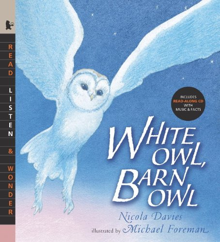 White Owl, Barn Owl with Audio: Read, Listen, & Wonder