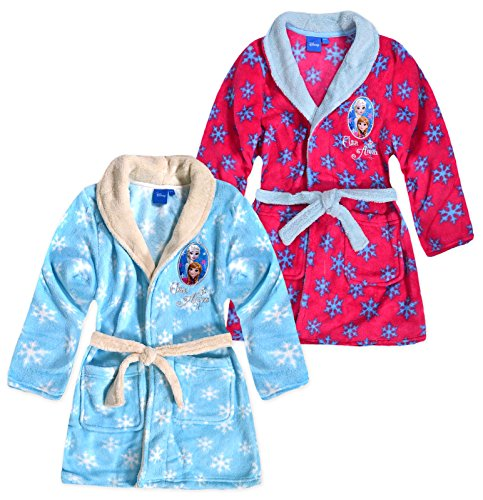 Disney Frozen Girls Fleece Dressing Gown