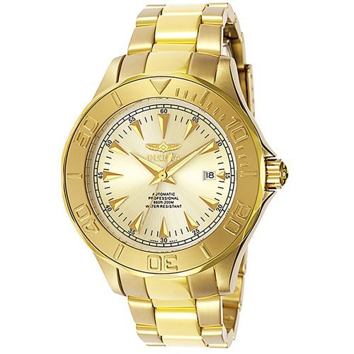 Invicta Men's 7039 Signature Collection Pro Diver Ocean Ghost Gold-Tone Automatic Watch