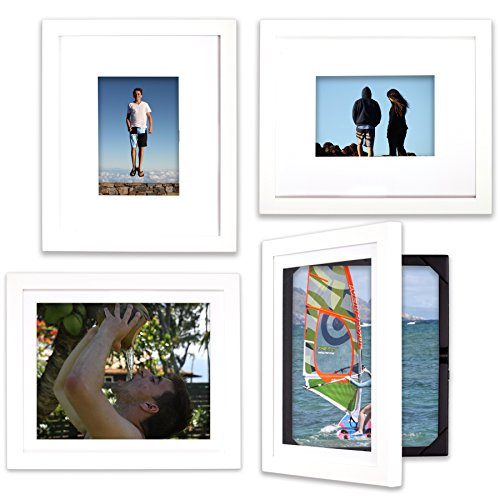EZ Change Frames for 8x10 or 5x7 pictures(4, White) (Picture Frames Lil Davinci compare prices)