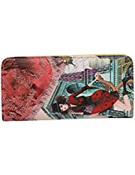 Ruff Casual Stylish Printed Women's Clutch (Multi Color)