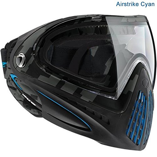 Dye I4 Paintball Masks - Airstrike Cyan