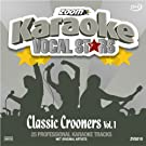 Zoom Karaoke CD+G - Classic Crooners 1 - Vocal Stars Karaoke Series ZVS010