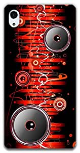 The Racoon Grip Let the Music Flow Through You hard plastic printed back case / cover for Sony Xperia Z2