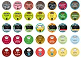 Crazy Cups Tea Deluxe Sampler for Keurig K-Cups, (35 K-Cups)