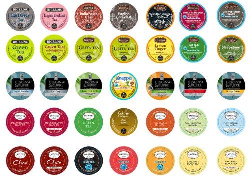 Crazy Cups Tea Sampler for Keurig K-Cups, Gift