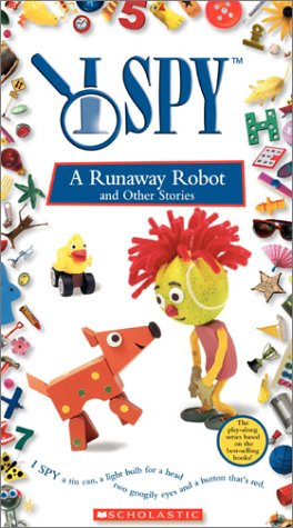 I Spy - A Runaway Robot and Other Stories [VHS]