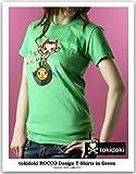 TOKIDOKIトキドキ ROCCOグラスグリーンTシャツ