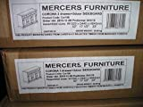 Mercers Furniture Corona 3-Door 3-Drawer Sideboard, Wood, Antique Pine, Large