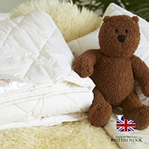 The Wool Room Wool Cot Bed Duvet from The Wool Room