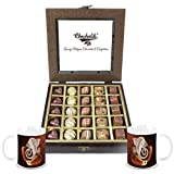 Chocholik - 25Pc Yummy Belgium Chocolates With Diwali Special Coffee Mugs - Diwali Gifts