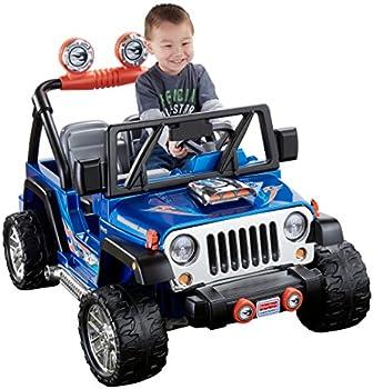 Fisher-Price CBG61 Jeep Wrangler Ride-On