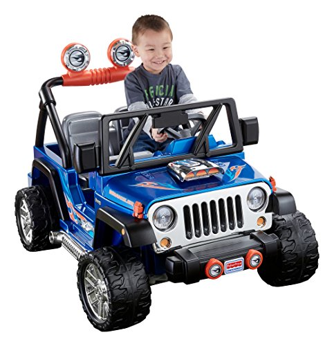Read About Fisher-Price Power Wheels Hot Wheels Jeep Wrangler
