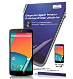 Green Onions Supply Crystal Oleophobic Screen Protector for Google Nexus 5 (Pack of 2)