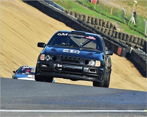 Photographic Print of CM11 5679 Stephen Scott-Dunwoodie, Ford Sierra Cosworth