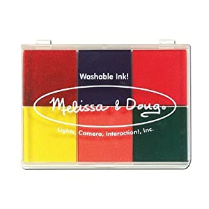 Melissa & Doug Rainbow 6 Color Stamp Pad