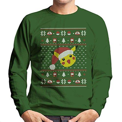 Christmas-Pikachu-Knit-Pattern-Pokemon-Mens-Sweatshirt