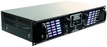 2100W PA amplificateur USB SD Blue Stream 700 noire