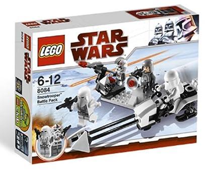 Lego - 8084 - Jeu de Construction - Star Wars - Snowtrooper - Battle Pack