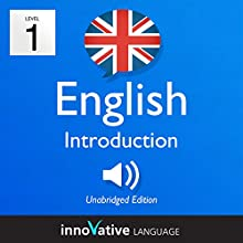 Learn British English - Level 1: Introduction to British English - Introduction English, Volume 1: Lessons 1-25 Audiobook by  Innovative Language Learning Narrated by  Innovative Language Learning