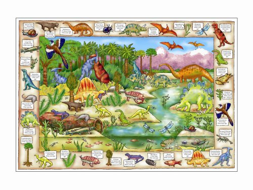 Cheap Fun The Original Toy Company 272 – Dinosaur Discovery Puzzle (B0007TXTFM)